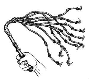 Плетня на концах которой завязывали кровавые узлы
