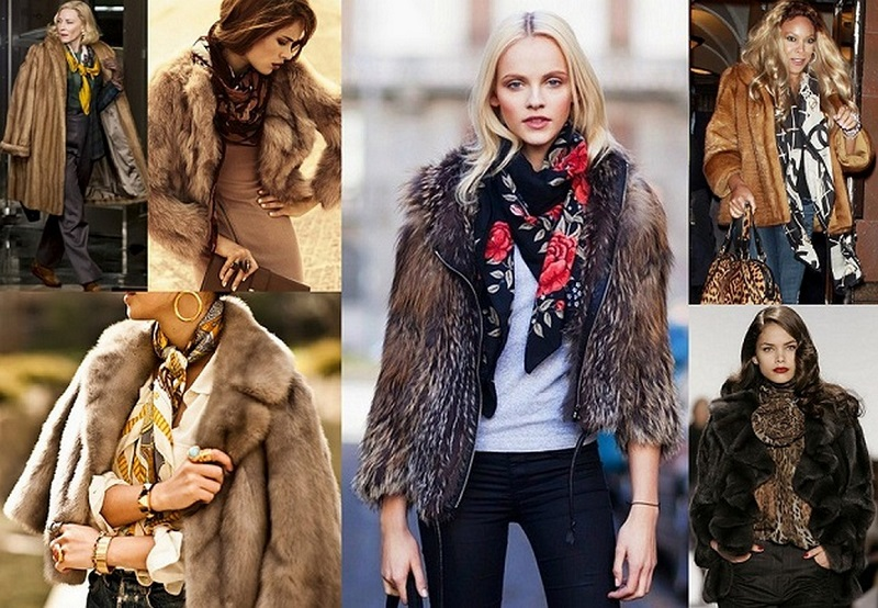 11 Как завязать платок на шее разными способами и как красиво повязать шарфик на плечах