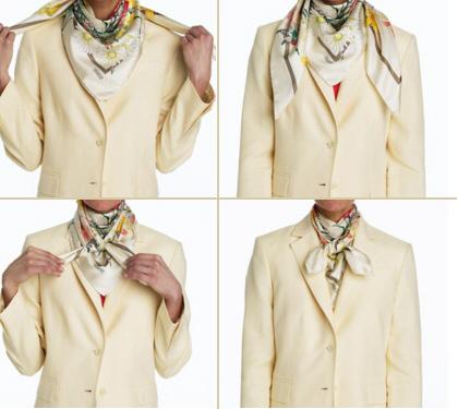 kovb1 Как завязать платок на шее разными способами и как красиво повязать шарфик на плечах