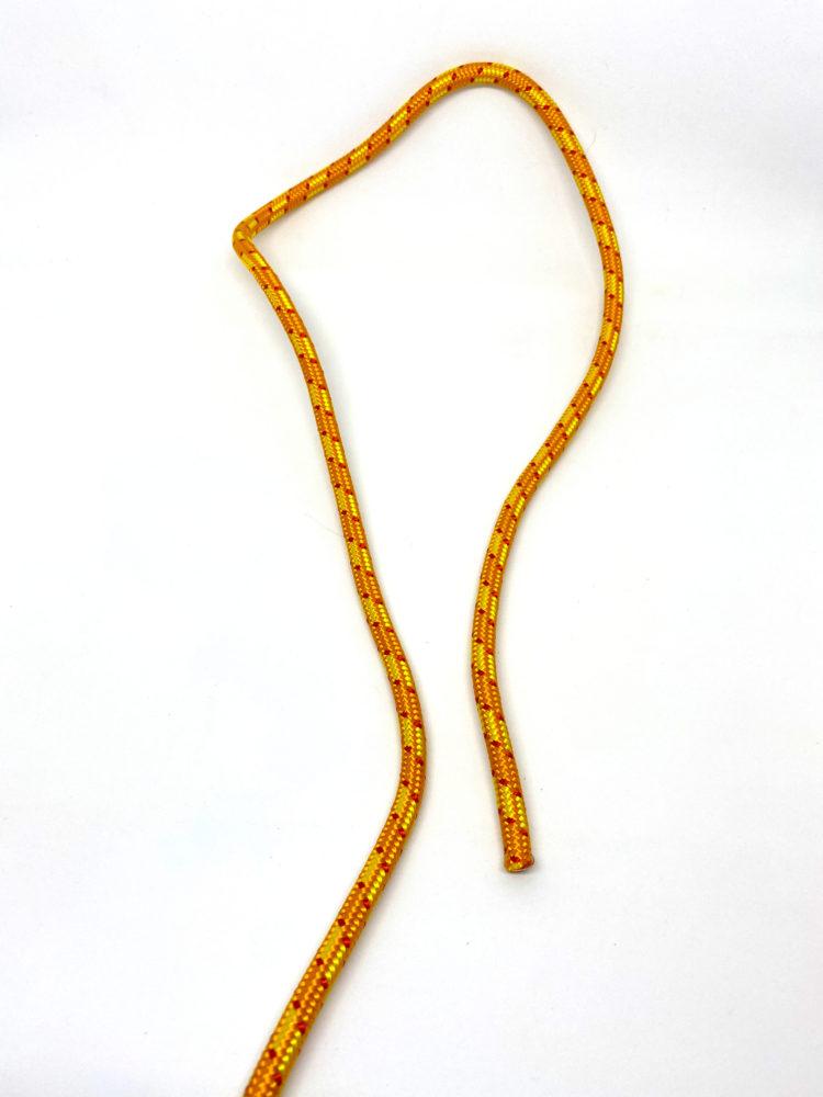 Шаг 1. Узел Булинь (Беседочный узел) схема вязания