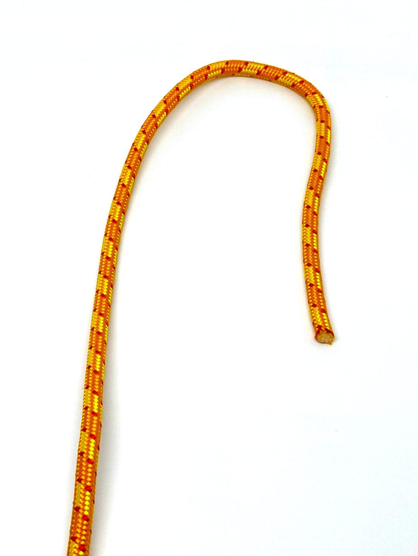 Шаг 1. Узел Удавка схема вязания