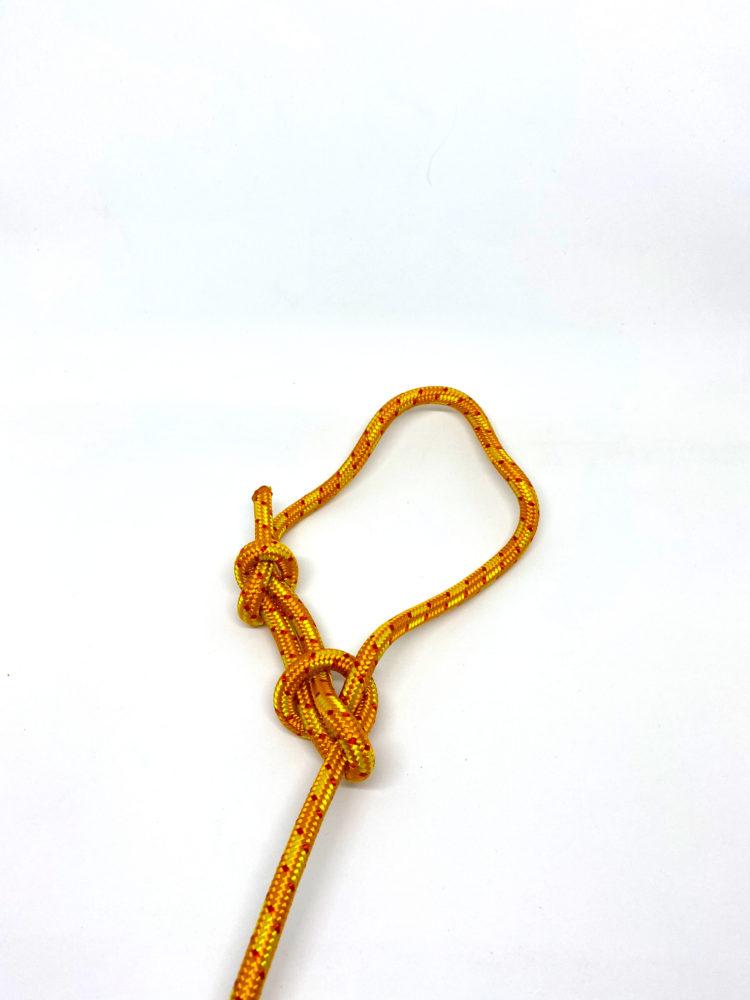 Узел Булинь (Беседочный узел) с контрольным узлом
