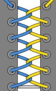 49. Двойная двухцветная